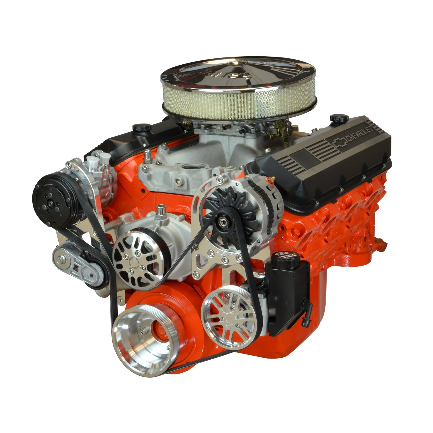 Chevy Big Block Driver Series Kit with Alternator, A/C and Power Steering