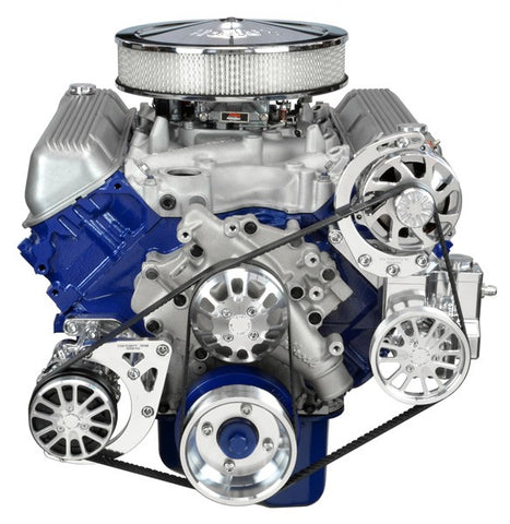 Ford Big Block 429-460 Kit with Alternator, A/C and Power Steering