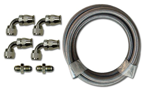 HK210 Stainless Braided Hose Kit