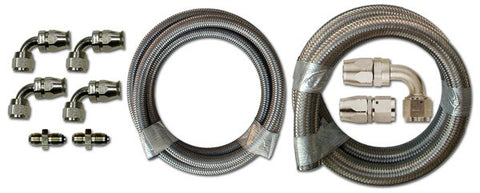 HK215 Stainless Braided Hose Kit