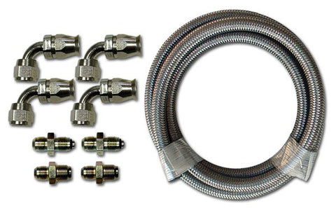 HK220 Stainless Braided Hose Kit