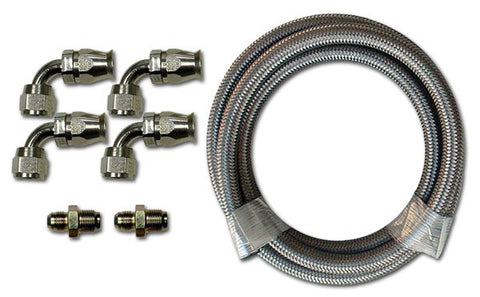 HK221 Stainless Braided Hose Kit
