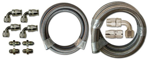 HK225 Stainless Braided Hose Kit