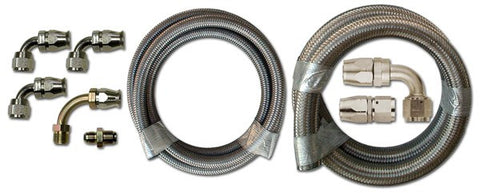 HK245 Stainless Braided Hose Kit
