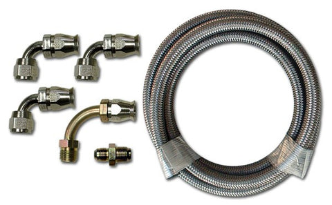 HK250 Stainless Braided Hose Kit
