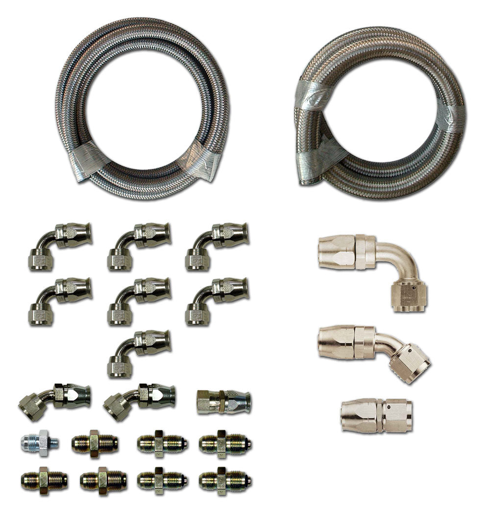 HK275 Stainless Braided Hose Kit - GM - Hydroboost