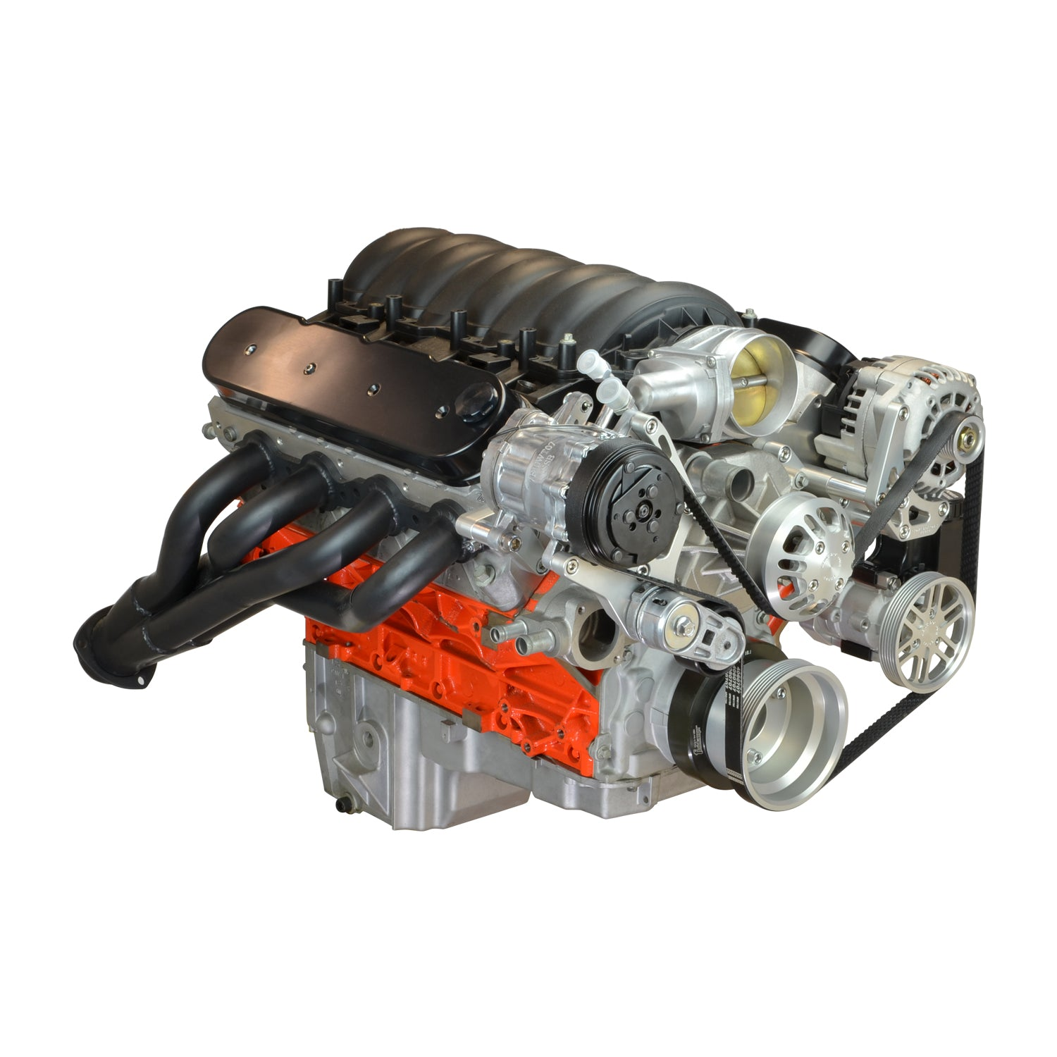 Chevy LS Driver Series Kit with Alternator, A/C and Power Steering