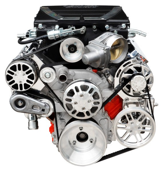 Chevy LS Victory Series Kit for Supercharger, Alternator, A/C and Power Steering - EForce