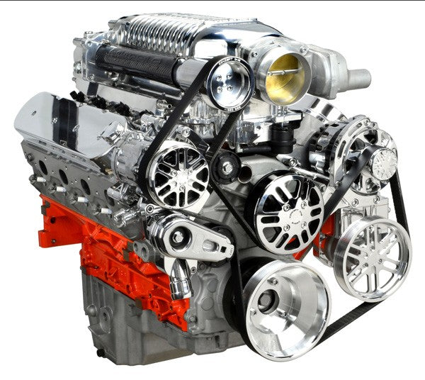 Whipple Supercharger Replacement Parts: Chevy LS Victory Series Kit For Supercharger, Alternator