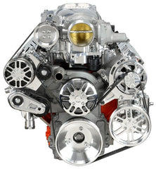 Chevy LS Victory Series Kit for Supercharger, Alternator, A/C and Power Steering - Whipple
