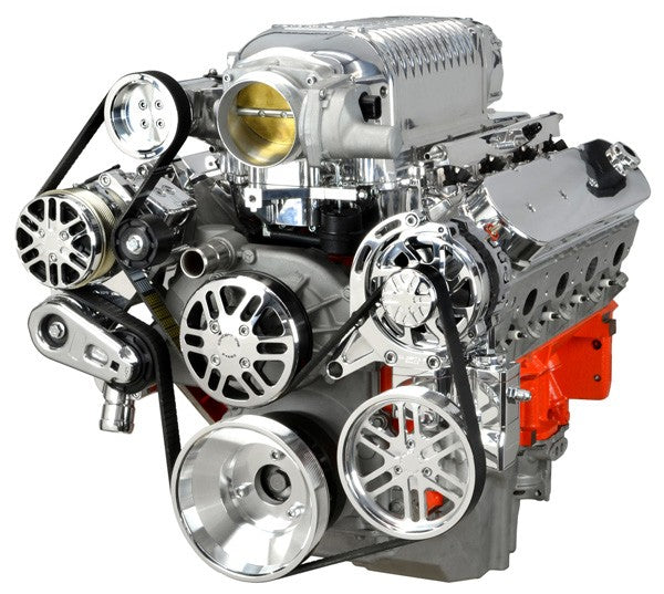 Chevy LS Victory Series Kit For Supercharger, Alternator