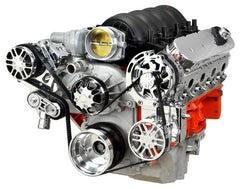 Chevy LS Victory Series Kit with Alternator, A/C and Power Steering