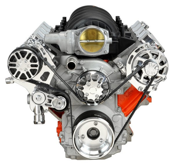 Chevy LS Victory Series Kit with Alternator and A/C