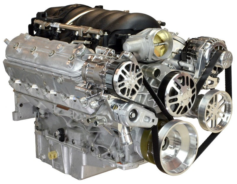 Chevy LS Victory Series HD Kit with Alternator, A/C and Power Steering