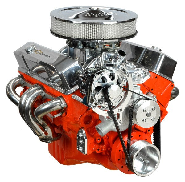 Concept One Pulley Systems: Chevy Small Block Basic Kit with Alternator, front view angle