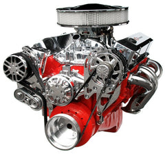 Chevy Small Block Victory Series Kit with Alternator and A/C