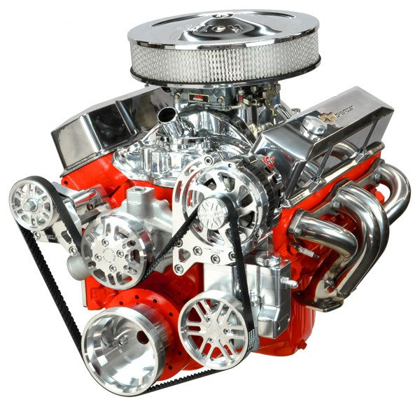 Chevy Small Block Victory Series Kit with Alternator and Power Steering
