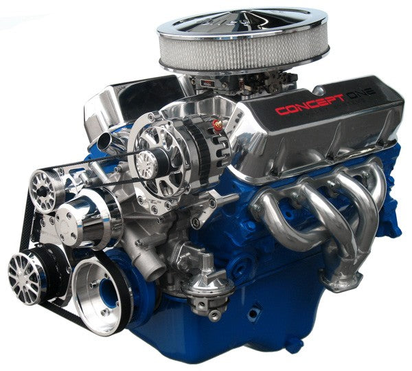 Ford Small Block Kit with Alternator and A/C