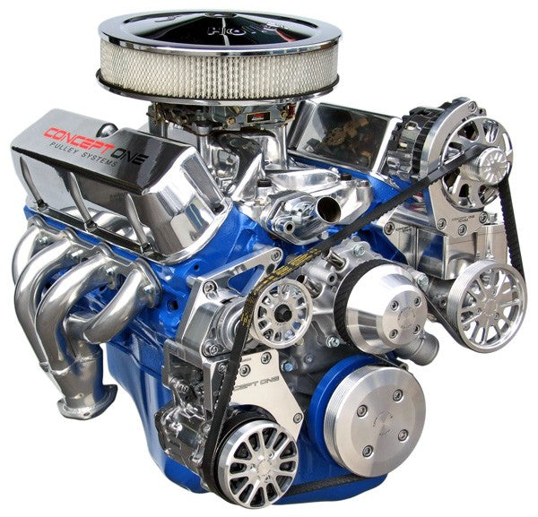 Ford Small Block Kit With Alternator A C And Power