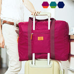 Foldable Nylon Travel Luggage Organizer Tote - MOZLLE