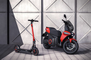 Seat launched electric scooters and e-motorcycles