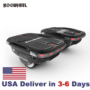Koowheel Hovershoes: Revolutionary 2.0 Hoverboard - Free Shipping & Tax - USA Stocks - $40 Off