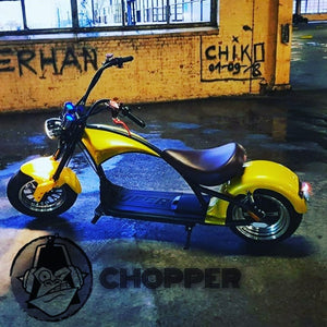 Harley Chopper Scooter, Citycoco 3000W 20A 60km range, Stock in EU Warehouse Free Tax, EEC/COC Certified