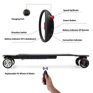 Koowheel Onyx Electric Skateboard Gen 2 - Free Shipping & Tax