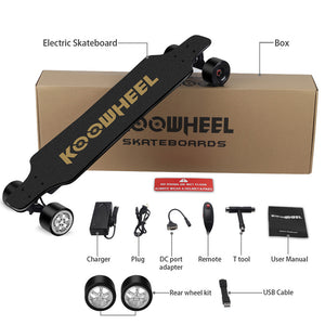 Koowheel D3M Gen2.5 Gen.2 UPGRADE Electric Skateboard 5000mah Samsung - Free Shipping & Tax, Use Coupon get $40 off!