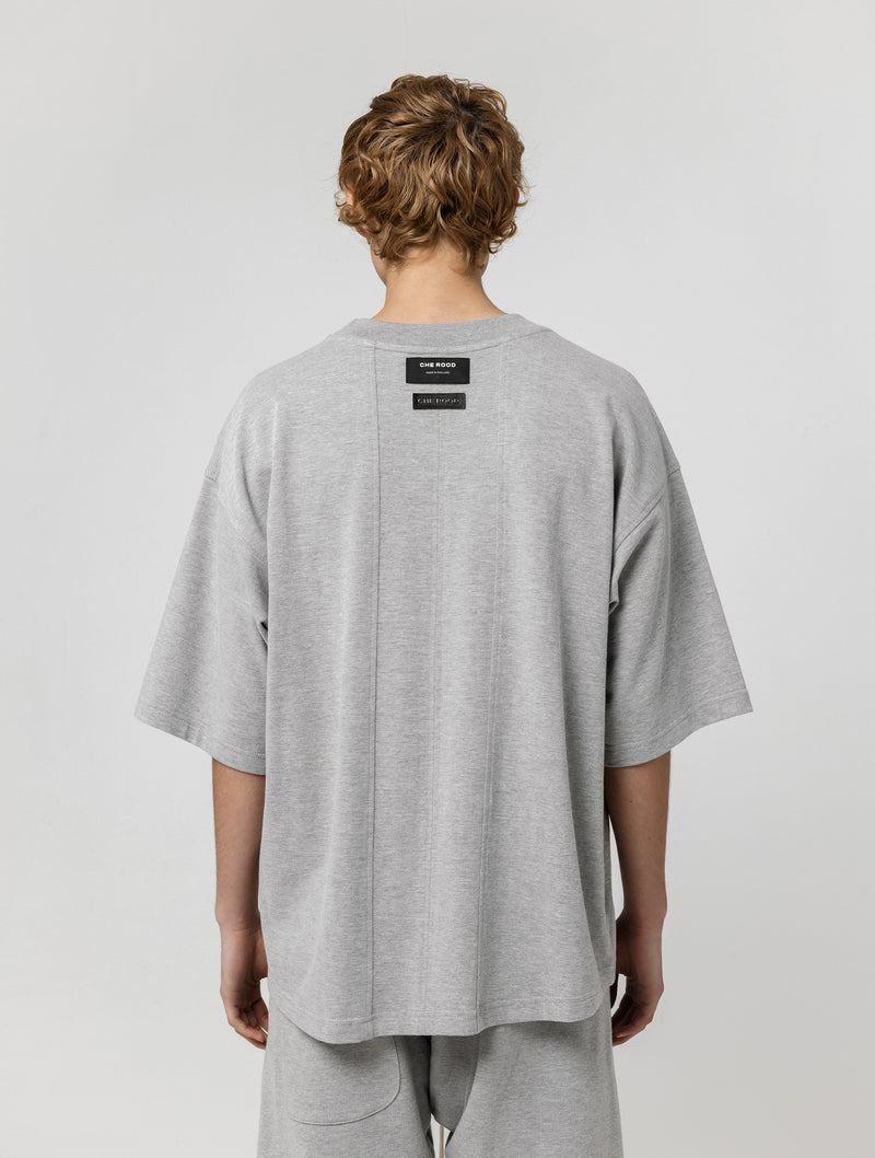 INSIDE OUT 3/4 T-SHIRT - GREY