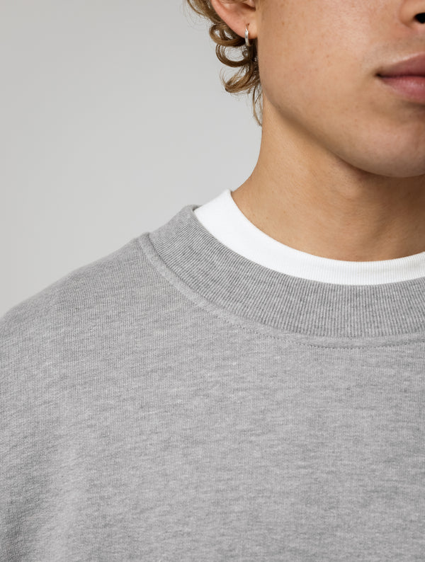 OVERSIZED HEAVY CREWNECK - GREY