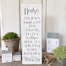 Chippy Handmade HOME Signature Goose & Grey Board VARIOUS COLOURS