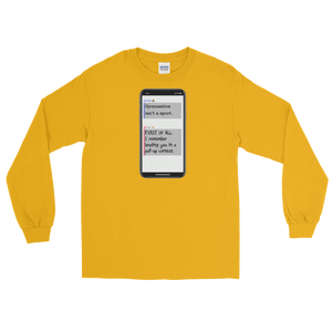 First Hater Long Sleeve T-Shirt