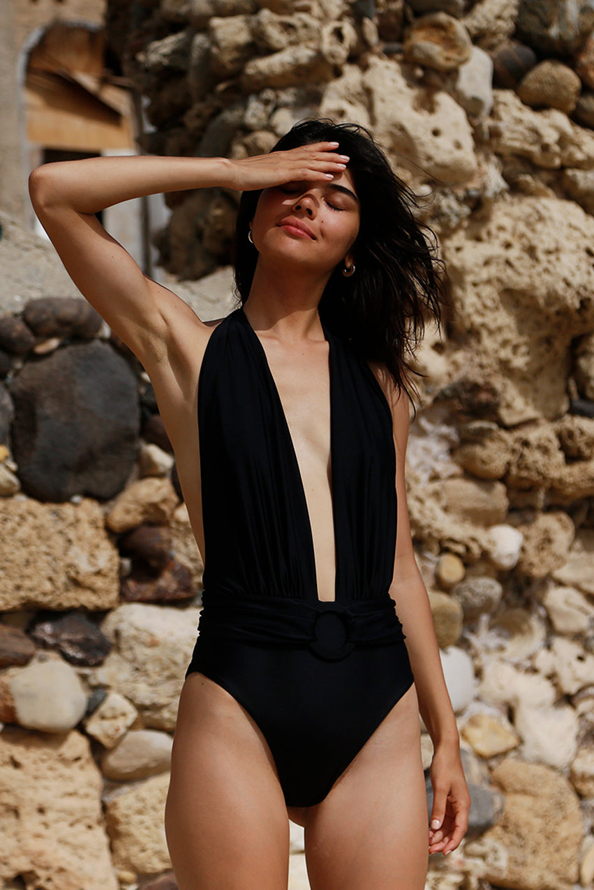 Agathe Swimsuit Black
