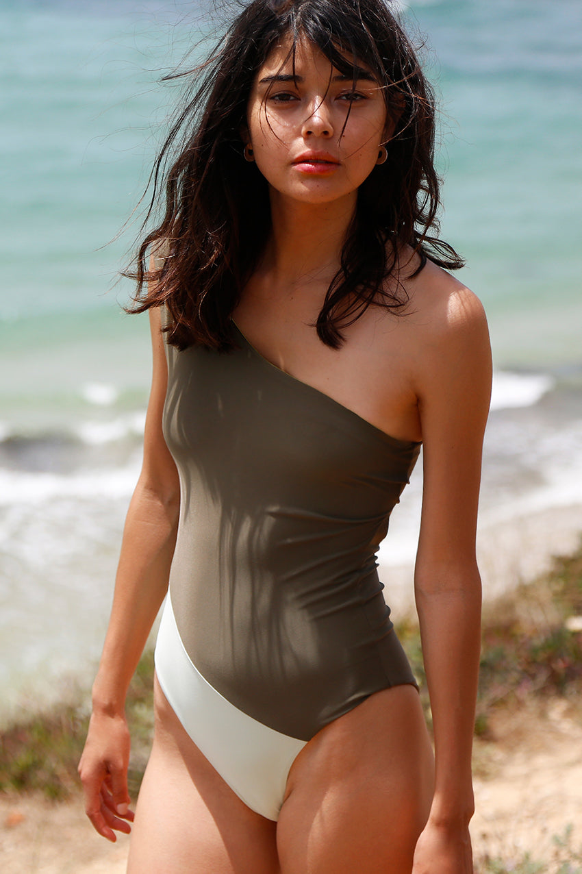 Romy Swimsuit Military Green