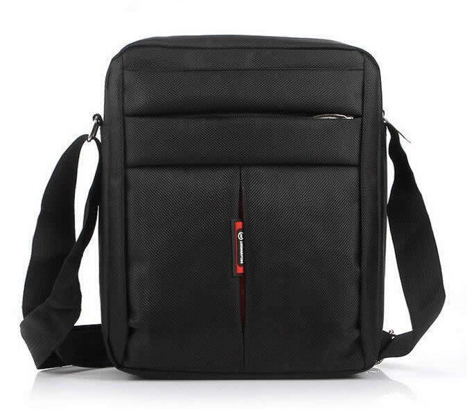 High Quality Men Casual Business Messenger Oxford Shoulder Travel Black Brown  Bags