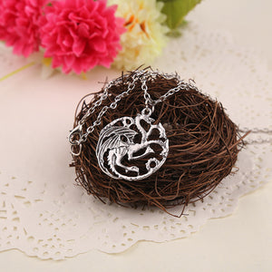 "Timeless classic ""Game of Thrones"" House Targaryen Dragonlord Unisex Necklace"