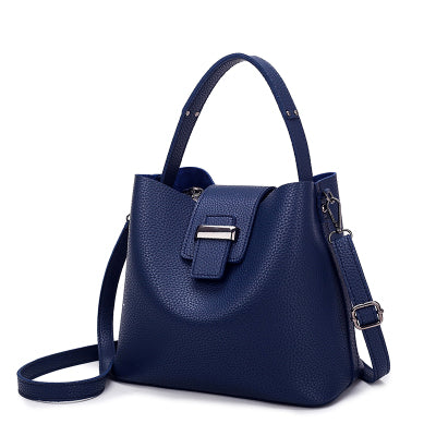 2018 Fashion PU Leather Luxury Designer Women Shoulder Handbag