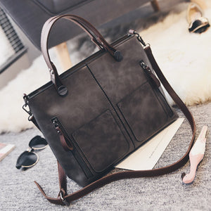 Luxury Large Capacity  Women Designer New Fashion Litchi Handbag