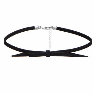 8 PCS/Set PU Leather Choker Necklaces