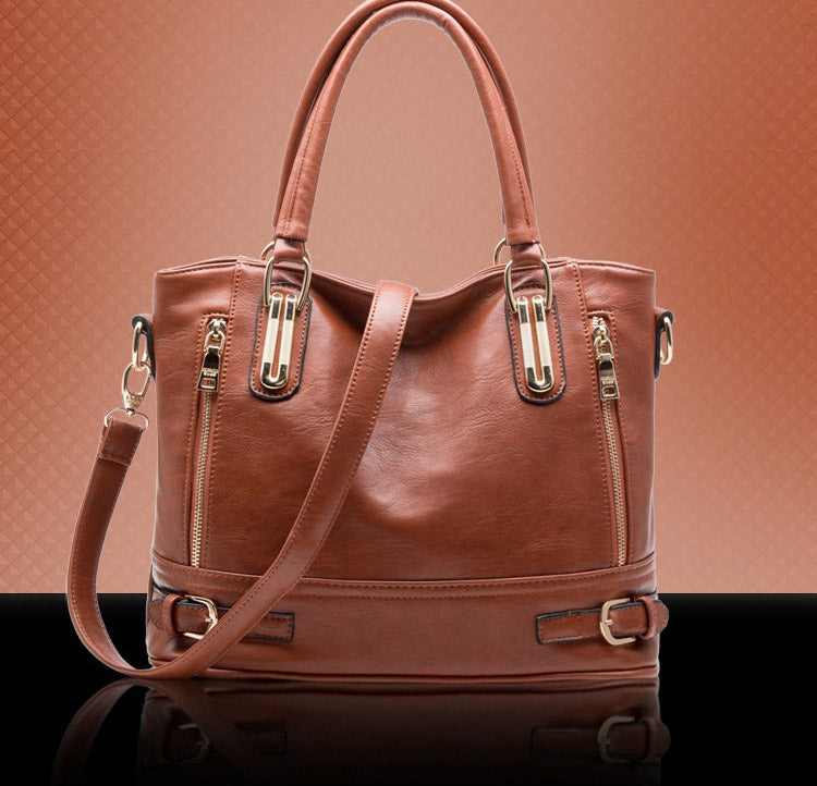 Women High Quality  Leather Luxury Designer Crossbody Bag
