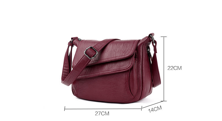 Women Luxury Leather Handbags New Style 2018