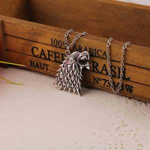 "Timeless classic ""Game of Thrones""  House of Stark Unisex Necklace"