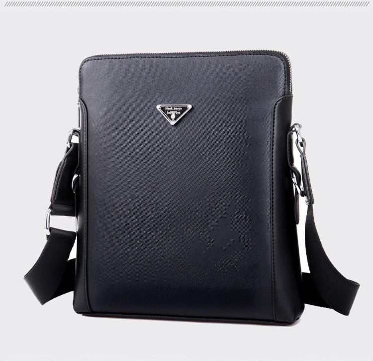 Men Fashion Messenger Business PU Leather/Polyster Shoulder Bag