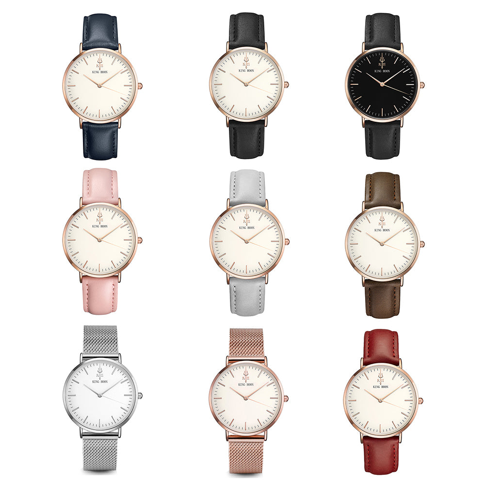 Unisex Elegant Luxury Casual Waterproof 38MM Watch