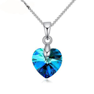 SWAROVSKI Crystal Heart Pendant Necklace