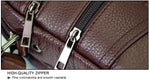 Men Luxury Genuine Leather Messenger Bag