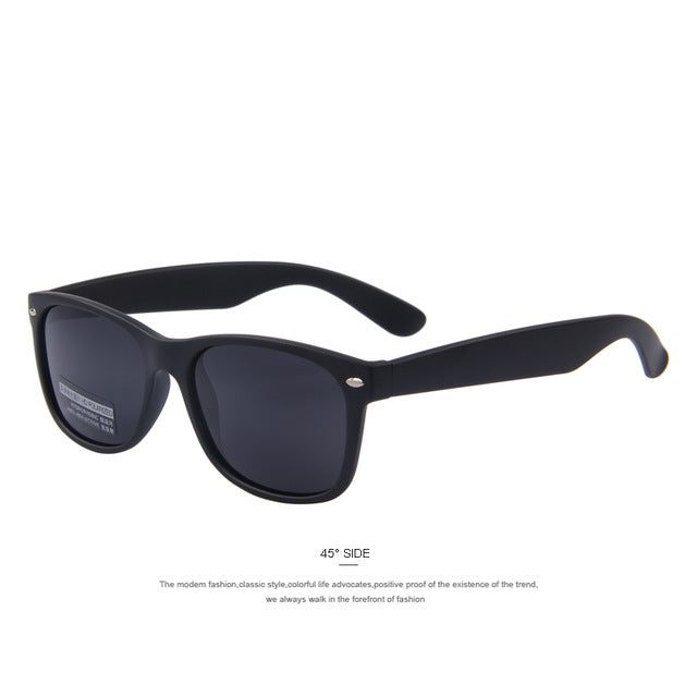 Men Polarized Retro Rivet Sunglasses