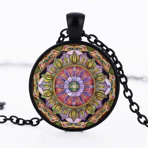 2018 Fashion Mandala Vintage Yoga Pendant Necklace