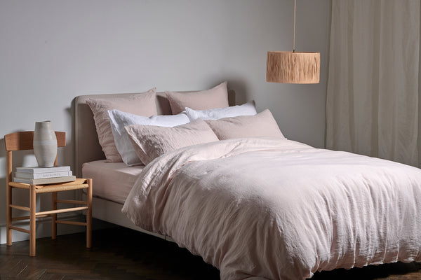Behind The Design | The Softest Linen Bedding